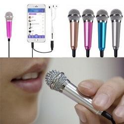 Hot Mini Karaoke kondensatormikrofon för telefondator