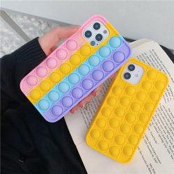 Pop it fidget cover för iPhone 11 - MultiColor