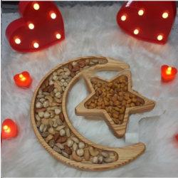 Ramadan dekorationer stjärna och månen cookie box