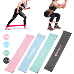 Resistance Loop Bands Strength Fitness Gym Motion Yoga Workout