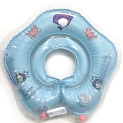 Simning Baby Tillbehör Halsring Tube Säkerhet Baby Float Infl Blue