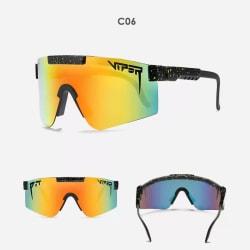 Unisex polariserade sport solglasögon C6
