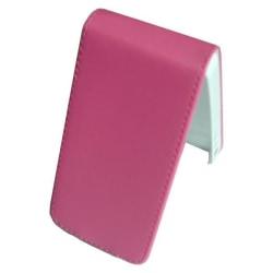 Läder fodral iPhone 4/4S rosa