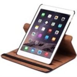 Läder fodral / skal till iPad Air 2 - Brun