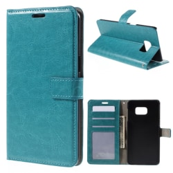 Plånbok fodral Samsung Galaxy S7 - blå