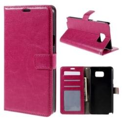 Plånbok fodral Samsung Galaxy S7 - rosa
