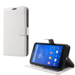 Plånboksfodral till Sony Xperia E4 - vit