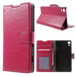 Plånboksfodral till Sony Xperia X - rosa