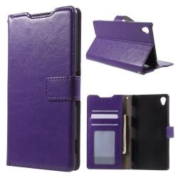Plånboksfodral till Sony Xperia Z5 - lila