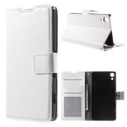 Plånboksfodral till Sony Xperia Z5 - vit
