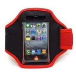 Sport armband till iphone 4/4S röd