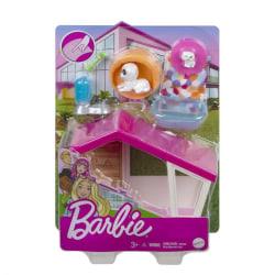 Barbie Hundkoja med valpar och Tillbehör