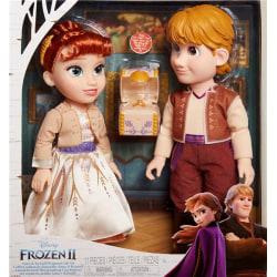 Disney Frozen 2 Toddler Doll Anna & Kristoffer Gift Set