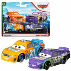 Disney Pixar Cars 3 Speedy Comet & Parker Brakeston