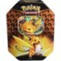 Pokemon Hidden Fates Raichu GX Tin Box