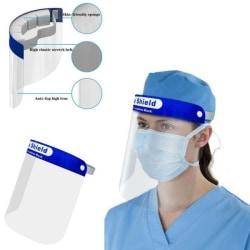 2-Pack - Visir / Skyddsvisir - Skydd för Ansikte Mun Transparent Transparent