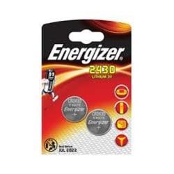 2430-2 Energizer Lithium 3V  2-pack Aluminium
