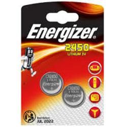 2450-2 Energizer Lithium 3V  2-pack Aluminium
