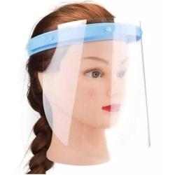 5-Pack - Skyddsvisir - Går att vika upp Transparent