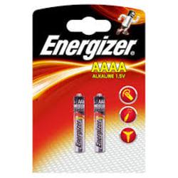 AAAA-A Energizer 1.5 V 2-pack Akryl