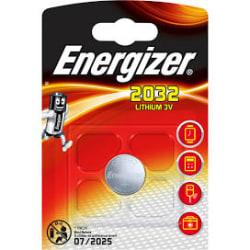 Energizer Lithiumbatteri CR2032  Aluminium