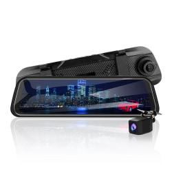 Full HD Dashcam med två kameror, G-sensor, vidvinkel