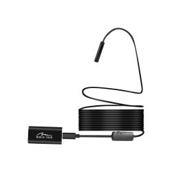 Inspektionskamera - Endoskop - dammtät/vattentät - färg - trådlö Svart