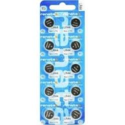 LR44/A76 10-pack Renata batteri  Aluzink