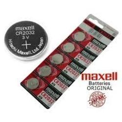 Maxell CR 2032 5-Pack Lithium 2032 3V  Aluminium