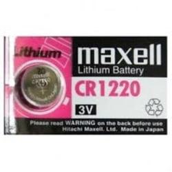 Maxell Lithium cr1220 3V Aluminium