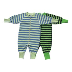 Babypyjamas 2-pack stl. 50cl (stora i storleken) grön