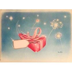 Julkort/paketkort Jumbo 20-pack