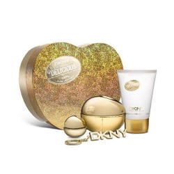 DKNY Golden Delicious 2 parfym + Body lotion + nyckelring