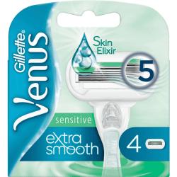 Gillette Venus Extra Smooth Sensitive 4-pack Vit one size