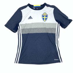 Sverige Tröja, SvFF, stl S, Adidas, Bortaställ