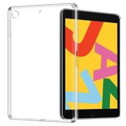 Anti-Halk iPad 10.2 2019/2020 TPU-skal - Genomskinlig Genomskinlig