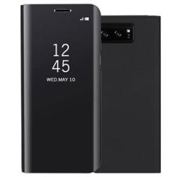Luxury Mirror View Samsung Galaxy Note8 Flipfodral - Svart Svart