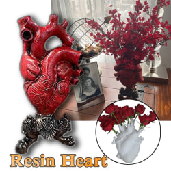 Anatomisk hjärtform Blomma Vase Nordic Style Flower Pot