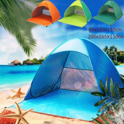 Auto Pop Up Beach Canopy Sun UV Shade Shelter Camping Tält