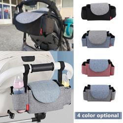 Multi-function Baby Stroller Bags Black
