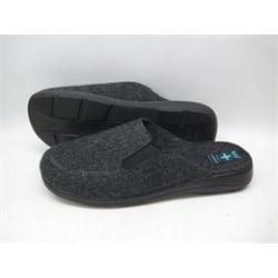 Filt innetofflor toffel slippers KLASSISK grå  46