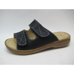 Sandal slip in tofflor Soft Dreams toffel svart 40