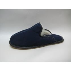 Slippers med öppen häl tofflor AXELDA marin blå 41