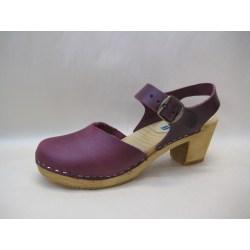 Trätoffel sandaletter träskor MOHEDA Dolly Bordå 38