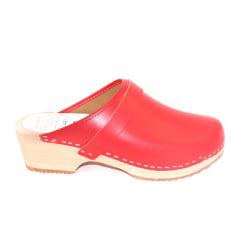 Trätofflor tofflor klassisk Lina röd 13200 40