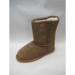 Varm fodrad känga boots i äkta fårskinn  AXELDA sheepskin 36