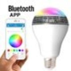 Bluetooth smart LED-högtalarlampa RGB BT