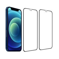 iPhone 12 Mini 2-pack Härdat glas Hel Täckande Skärmskydd