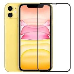 2-pack iPhone 11 Härdat glas Hel Täckande Skärmskydd