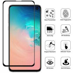 2-Pack Samsung Galaxy S10 - Bubbelfritt Härdat Glas Skärmskydd
